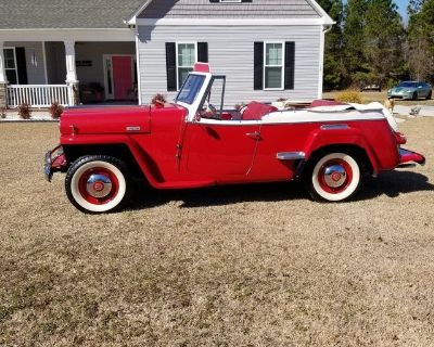 1949 willy Jeepster