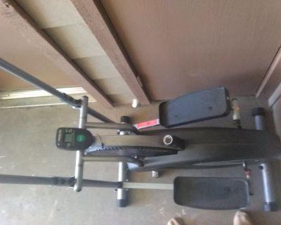 Air elliptical, exerpeutic