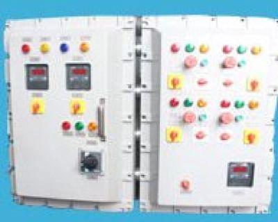 Flameproof PLC Automation Control Panel