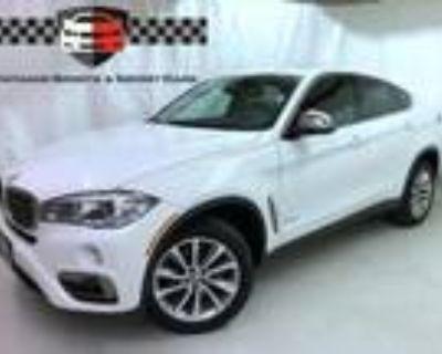 2018 BMW X6 White, 27K miles