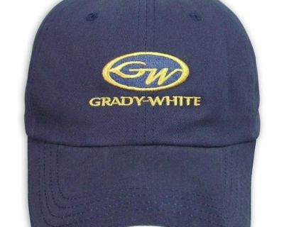 Grady White Boats Navy Blue Unstructured Hat