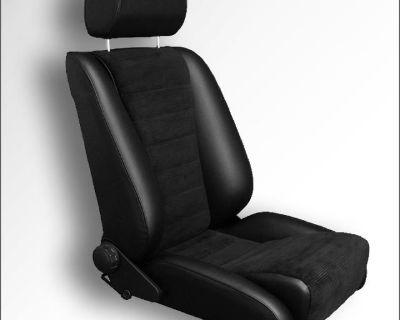 Porsche 911/912 LeMans S Seat. Leather/Corduroy