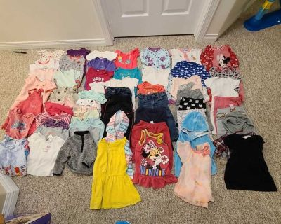 60 pcs 6-12 months baby girl clothing