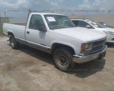 Salvage White 1999 Chevrolet C/k 2500