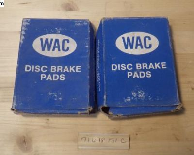 New 80-83 Scirocco 76-80 Golf Front Brake Pads