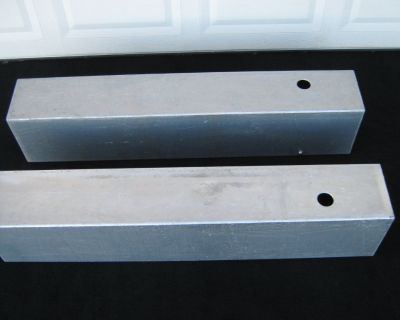 Two Aluminum Tanks For A Boat