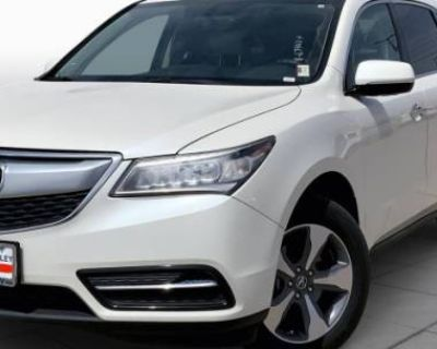 2016 Acura MDX AcuraWatch Plus