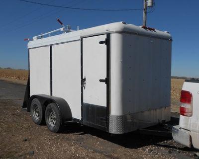6' X 12' Enclosed Utility Trailer