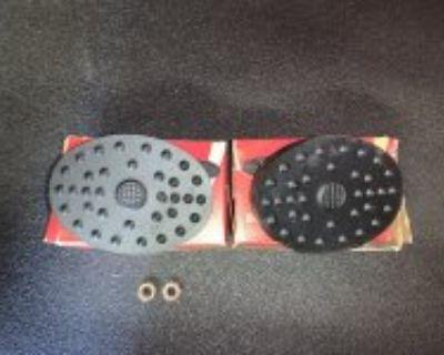 Nos globe pedal pads
