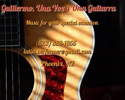 Mexican Soloist Performer. Guitarist & Singer