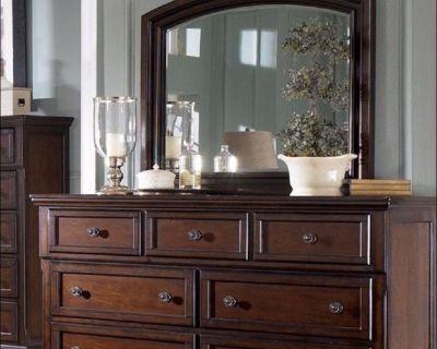 Brand New Ashley Queen Bedroom Sets