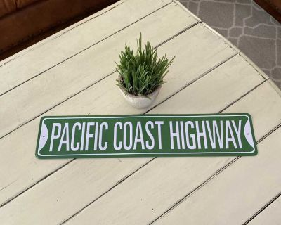 PCH sign. Great for patio, deck or porch. $5.