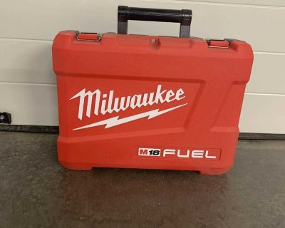 Spare/Extra Milwaukee M18 Fuel Driver/Drill Case ***Empty***