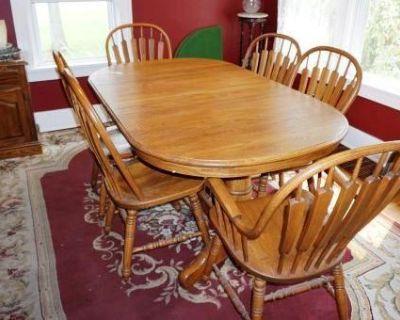 Getzville Estate Sale: Dept 56, John Deere Tractor, Great Furniture & More!!