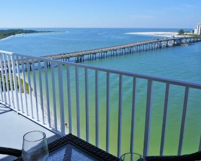 Beachfront Lovers Key Beach Club 802 - Gorgeous ocean view! - Fort Myers Beach