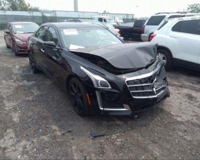 Salvage Black 2014 Cadillac Cts Sedan