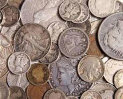 WE BUY OLD US COINS