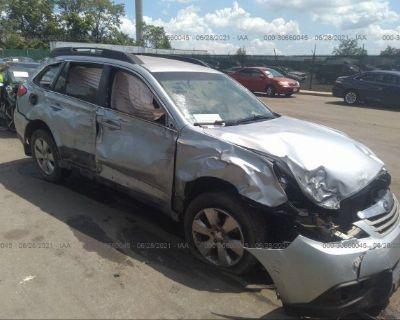 Salvage Silver 2012 Subaru Outback