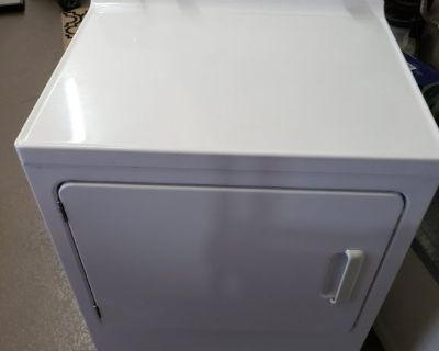 GE heavy duty extra large capacity gas dryer
