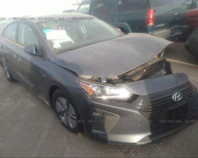 Salvage Gray 2019 Hyundai Ioniq Hybrid
