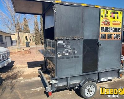 Used 2019 - 5' x 10' Mobile Kitchen Food Concession Trailer