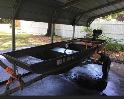 12 foot Jon boat for trade !!! Or sell
