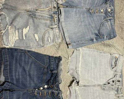 Jean shorts lot (Target and shein)