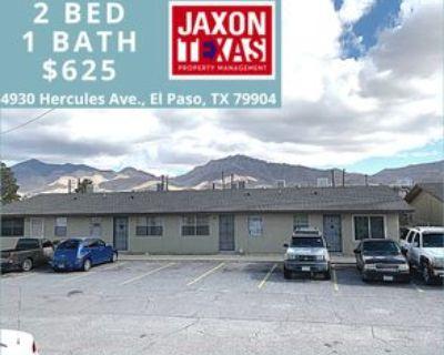4930 Hercules Ave #07, El Paso, TX 79904 2 Bedroom Apartment