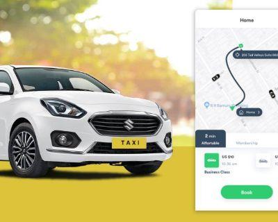 Taxi Booking App Development Company