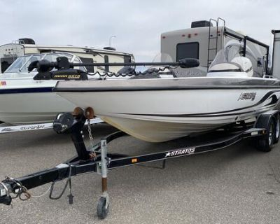 2006 Stratos 21MSX, 225 Evinrude, Tandem Axle Trailer! Now $24,900 or 209/month!