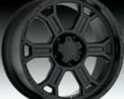 "20"" Inch Wheel. Rim Matte Black Raptor"