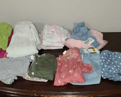 Baby girl size 9 month lot