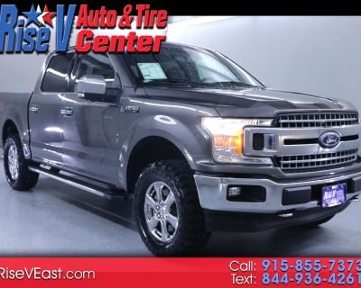 Used 2018 Ford F-150 XLT SuperCrew 5.5-ft Bed 4WD FX-4