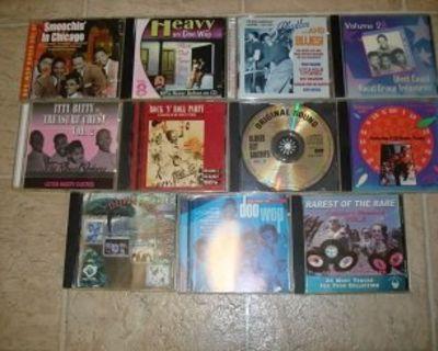 11 RARE DOO WOP / R&B*Mint-CD's !