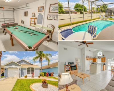 Front Yard Pool Tiled Floors Games Room TVs Throughout - Southern Dunes - Haines City