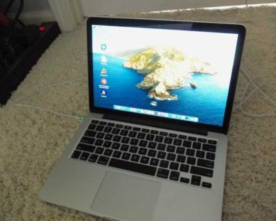 "Apple MacBook Pro 13"" Retina Laptop 2014 I5 8GB 256 SSD"