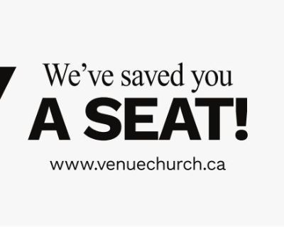 We've saved you A SEAT! ...