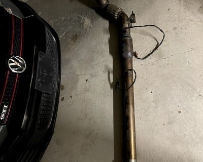 MK6 3 inch Catted Downpipe Magnaflow Catback, APR Intake (going back to stock)
