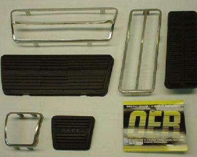 1967 - 1968 Camaro / Firebird Drum Pedal Pad Kit * 68 Nova * 67-68 Firebird