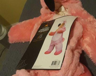 Jumpsuit flamingo costume