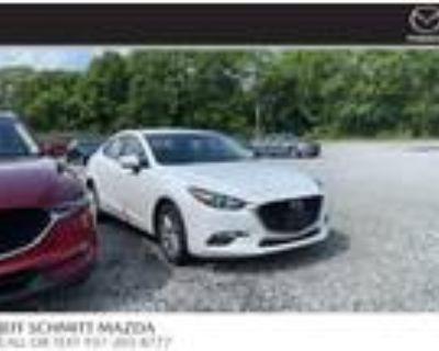 2018 Mazda MAZDA 3 White, 28K miles