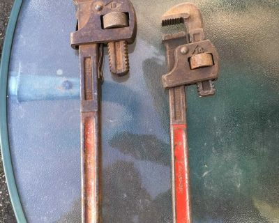 Vintage Pipewrenches