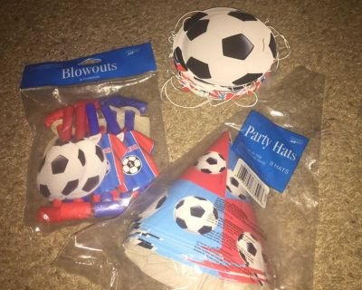 SOCCER birthday party decorations!