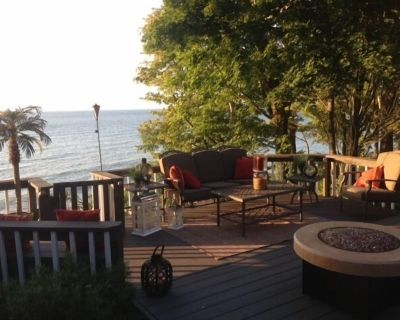 Avail July 20-July 23 Wine Country @ Lakefront Home, w/ Beach Access - North East Township
