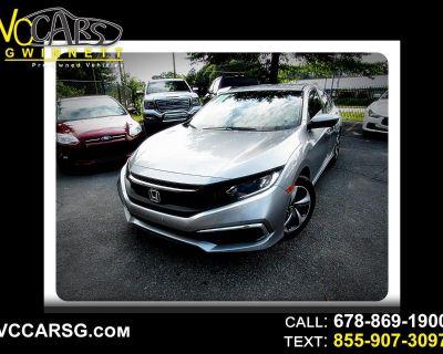 2020 Honda Civic LX Honda Sensing Sedan CVT