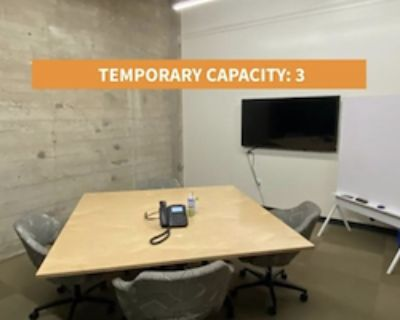Private Meeting Room for 3 at Galvanize