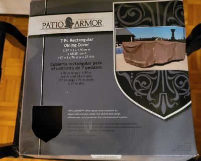 Patio Armour protective cover for table and 6 chairs