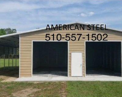 AMERICAN STEEL GARAGE'S SHOP'S RV BOAT & CAR COVER'S