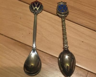 Collectible VW Spoons-rare- $ To Go To Dog Rescue