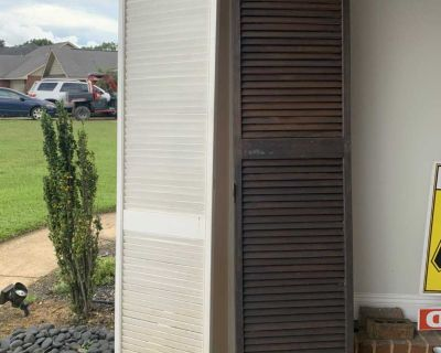 Louvered doors/shutters